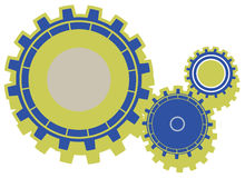 MECHANICAL GEAR Stock Images