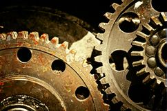 Mechanical gears Royalty Free Stock Image