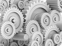 Mechanical gears Stock Image