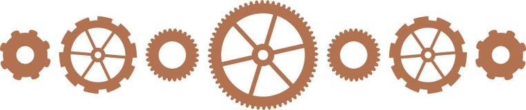 Mechanical Gears Royalty Free Stock Photo