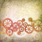 Mechanical Grunge Background Royalty Free Stock Photo