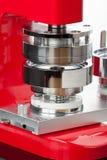 Mechanical hand press Royalty Free Stock Image