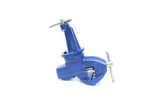 Mechanical hand vise clamp Royalty Free Stock Image