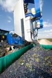 Mechanical harvest Stock Images