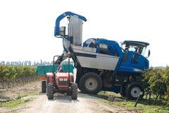 Mechanical harvest Royalty Free Stock Photos