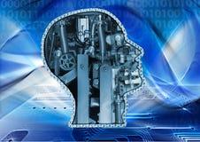 Mechanical head Stock Photography