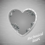 Mechanical heart Stock Image