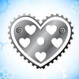 Mechanical Heart Royalty Free Stock Photos