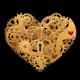 Mechanical heart Royalty Free Stock Photo