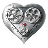 Mechanical heart stock illustration