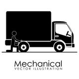 Mechanical icon Royalty Free Stock Images