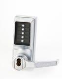 Mechanical keypad lock Royalty Free Stock Images