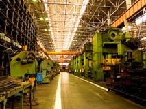 Mechanical manufacture. Stock Photos