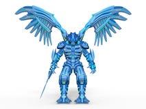 Mechanical monster. 3D CG rendering of a mechanical monster stock illustration