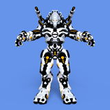 Mechanical monster. 3D CG rendering of a mechanical monster Royalty Free Stock Photography