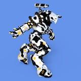 Mechanical monster. 3D CG rendering of a mechanical monster Stock Photos