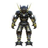 Mechanical monster. Image of a mechanical monster royalty free illustration
