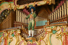 Mechanical Music Organ Royalty Free Stock Photo