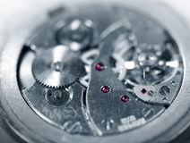 Mechanical old watch Royalty Free Stock Images