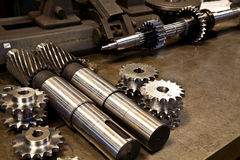 Mechanical parts Royalty Free Stock Images