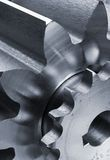 Mechanical-parts close-up Stock Image