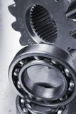 Mechanical-parts idea Stock Photo