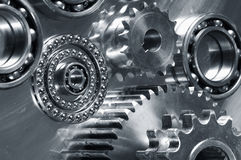 Mechanical parts study Royalty Free Stock Photos
