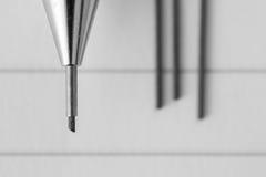 Mechanical pencil Stock Image