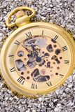 Mechanical pocket watch. Stock Photography