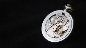 Mechanical pocket watch Royalty Free Stock Photography