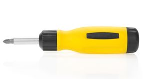 The mechanical screwdriver Stock Photography