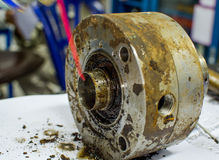 Mechanical seal Royalty Free Stock Image