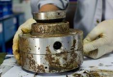 Mechanical seal stock photography