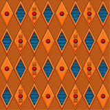 Mechanical seamless pattern Stock Images