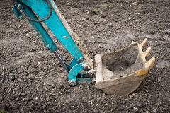 Mechanical shovel Stock Photography