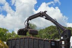 Mechanical shovel. Loading a truck Stock Images