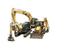 Mechanical shovel Royalty Free Stock Photography