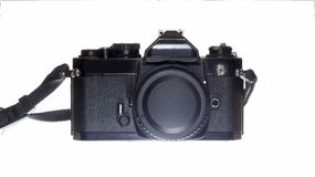 Mechanical SLR camera Royalty Free Stock Photography