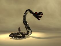 Mechanical snake Stock Image