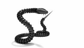 Mechanical snake Royalty Free Stock Image