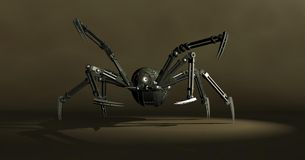 Mechanical spider Royalty Free Stock Image