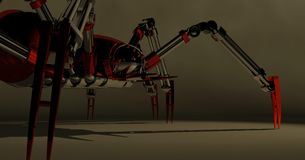 Mechanical spider Royalty Free Stock Photos
