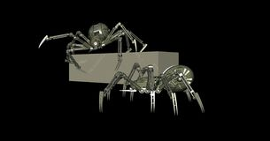 Mechanical spider Royalty Free Stock Photo