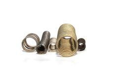 Mechanical springs Stock Images
