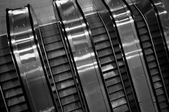 Mechanical stairs Royalty Free Stock Photos