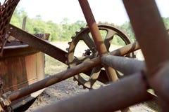 Mechanical Steampunk gear Stock Photos