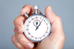 Mechanical stopwatch Royalty Free Stock Photos