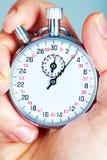 Mechanical stopwatch Stock Photo