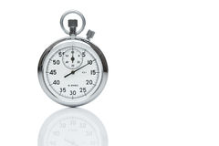 Mechanical stopwatch with copy space Royalty Free Stock Images