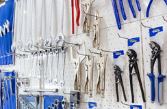 Mechanical tools for auto service and car repair Stock Photography